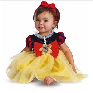 NWT Disney Baby 12-18 Months Snow White Costume